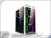APEVIA X-Sniper 2 Mid Tower Case w/ Side Window - White (X-Sniper2-WHT)