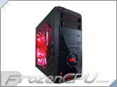 APEVIA X-Dreamer 4 Mid Tower Case w/ Side Window - Red (X-Dreamer4-RD)