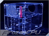 Sunbeam UFO Acrylic Cube Case - UV Blue - (ACUF-HUVB)