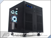 Lian Li PC-343B Full Liquid Cooling Ready Custom Cube Case - Black