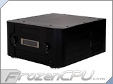 Silverstone Crown Series CW02 / Media Enclosure w/ Software & Remote - Black - (SST-CW02B � MXR Black)