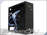 Advanced FrozenCPU Dual Loop Extreme Custom Liquid Cooled Corsair Obsidian 800D Full Tower Chassis