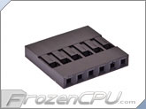 FrozenCPU ConnectRight 6-pin Female Motherboard Power Connector - Black