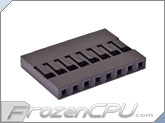 FrozenCPU ConnectRight 8-pin Female Motherboard Power Connector - Black