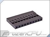 FrozenCPU ConnectRight 10-pin Male / Female Motherboard Power Connector - Black