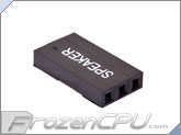 FrozenCPU ConnectRight 3-pin Male / Female Motherboard Power Connector - Black Speaker
