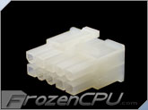 FrozenCPU ConnectRight 10-Pin Male PSU Power Connector - Corsair / Seasonic - Natural