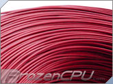 18AWG Hook Up UL1007 Approved Wire - Red
