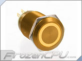 ModMyToys Anodized Illuminated 22mm Latching Switch - Gold / Amber (MMT-SW22LAT-VAN-GDAM)
