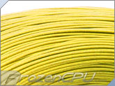 16AWG Hook Up UL1007 Approved Wire - Yellow