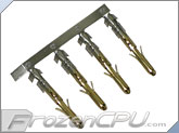 FrozenCPU ConnectRight Gold Plated Male Molex Pins (set of 4)