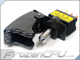 Military Style Switch w/ Carbon Fiber Cover