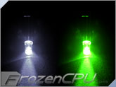 5mm White/Green Dual Color LED