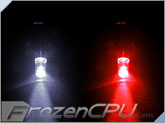5mm White/Red Dual Color LED