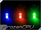 5mm Blue/Red/Green Triple Color LED