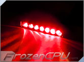 FrozenCPU 7-Spread Lazer LED Light - Red