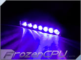 FrozenCPU 7-Spread Lazer LED Light - UV
