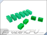 Mod/Smart Internal Dust Cover Kit - UV Green - (DC-KIT-UG)