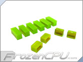 Mod/Smart Internal Dust Cover Kit - UV Brite Green - (DC-KIT-BG)