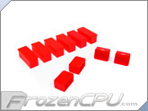 Mod/Smart Internal Dust Cover Kit - UV Red - (DC-KIT-UR)