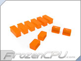 Mod/Smart Internal Dust Cover Kit - UV Brite Orange - (DC-KIT-BO)