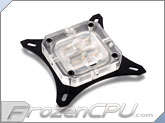 Bitspower Summit EF CPU Liquid Cooling Block - Intel LGA Series - Clear Acrylic (BP-WBCPUIAC-CUMBKCL)