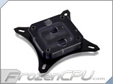 Bitspower Summit EF CPU Liquid Cooling Block - Intel LGA Series - Ice Black Acrylic (BP-WBCPUIAC-CUMBKIBK)