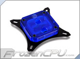 Bitspower Summit EF CPU Liquid Cooling Block - Intel LGA Series - Ice Blue Acrylic (BP-WBCPUIAC-CUMBKIBL)