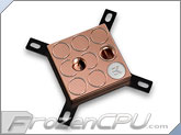 EK Supremacy Universal CPU Liquid Cooling Block - Full Copper (EK-Supremacy - Full Copper)