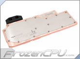 Aquacomputer aquagraFX 690 GTX Full Coverage Liquid Cooling Block - Copper Version (23543)