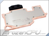 Aquacomputer aquagraFX 680 GTX Type 2 Full Coverage Liquid Cooling Block - Nickel Plated  (23542) - Non Reference Design!!
