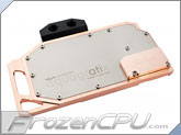 Aquacomputer aquagraFX HD 7970 Full Coverage Liquid Cooling Block - Copper Version (23534)