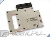 EK nVidia Quadro K5000 Liquid Cooling Block - Copper / Stainless Steel (EK-FCQK5000)