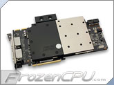 EK ASUS Radeon HD 7970 Matrix VGA Liquid Cooling Block - Acetal + Nickel  CSQ (EK-FC7970 Matrix - Acetal+Nickel)