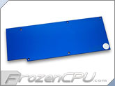 EK R9-290X VGA Liquid Cooling RAM Backplate - Blue (EK-FC R9-290X Backplate - Blue)-z