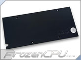 EK Radeon R9 285 VGA Liquid Cooling RAM Backplate - Black (EK-FC R9-285 Backplate - Black)