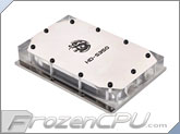 Bitspower HDD Acrylic Liquid Cooling Block - Silver (BP-HDS350AC-SL)