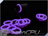 Bitspower UV Reactive Purple O-Ring (10 Pack) (BP-WTP-O10-UVPL)
