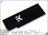 EK GeForce 5X0 GTX VGA Liquid Cooling RAM Backplate - Black (EK-FC5X0 GTX GW Backplate - Black) - Non Reference Design