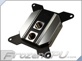 Heatkiller Rev 3.0 Sockets 1366/2011 CPU Liquid Cooling Block - Nickel / Black (14016)