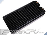 Black Ice SR1 Low Air Flow Optimized - 240 Radiator - Black