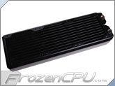 Black Ice SR1 Low Air Flow Optimized - 360 Radiator - Black