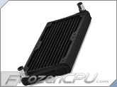 Black Ice Nemesis GT Stealth 240 X-Flow Radiator - Black