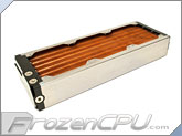 Aquacomputer Airplex Modularity System 360 Radiator - Copper Fins - Single Circuit (33036)