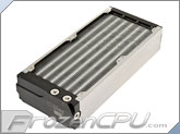 Aquacomputer Airplex Modularity System 280 Radiator - Aluminum Fins - Single Circuit (33011)