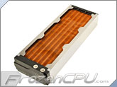 Aquacomputer Airplex Modularity System 360 Radiator - Copper Fins - Dual Circuit (33037)