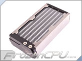 Aquacomputer Airplex Modularity System 240 Radiator - Aluminum Fins - Single Circuit (33006)
