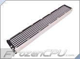 Aquacomputer Airplex Modularity System 840 Radiator - Aluminum Fins - Single Circuit (33031)