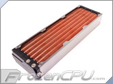 Aquacomputer Airplex Modularity System 420 Radiator - Copper Fins - Dual Circuit (33042)