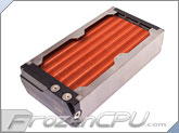 Aquacomputer Airplex Modularity System 240 Radiator - Copper Fins - Dual Circuit (33047)